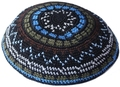 HIGH QUALITY HANDMADE KNITTED YARMULKE KIPPAH KIPPOT 2PIECES/LOT