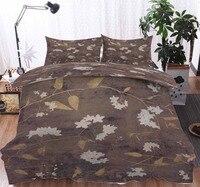 European style vintage flowers and birds Bedding Duvet Cover Set Pillowcase Microfiber Soft Comforter Bedroom Single Queen King