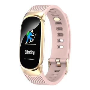 Image 4 - FROMPRO スマート腕時計メンズレディースアウトドアスポーツフィットネスブレスレット心拍数モニター血圧酸素健康スマートバンド QW16