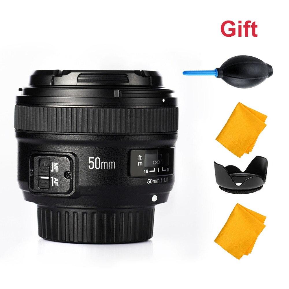 YONGNUO YN50MM F1.8 Large Aperture Auto Focus Lens for Nikon DSLR ,50mm f1.8 lens yongnuo yn50mm mf 1 8 large af lens yn50mm aperture auto focus for nikon vs canon camera or pixel d17 battery grip for nikon