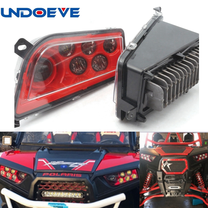 Undoeve For 2014-2016 Polaris RZR XP 1000, 2015-2016 RZR 900, 2016 RZR XP TURBO Left & Right Hand LED Headlight Kit