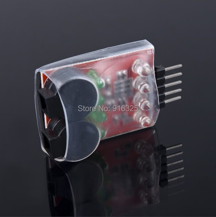 RC model 2S 3S 4S Detect Lipo Battery Low Voltage Alarm Buzzer rc model 2s 3s 4s detect lipo battery low voltage alarm buzzer
