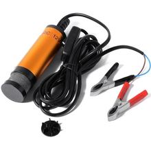 цена на 38mm Water Oil Diesel Fuel Transfer Refueling Detachable 12V Aluminum alloy Submersible Pump