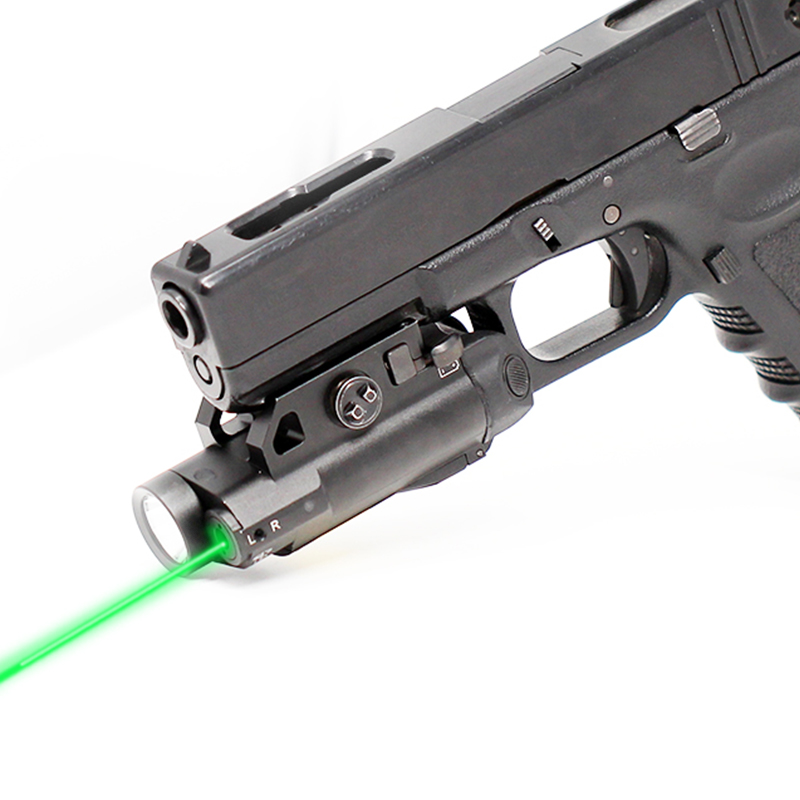 Tactical Laser Sight Scope Weapon Light Laser 5mw Glock 19 Laser Pointer For Guns Picatinny Aiming Laser + Tactical LightTactical Laser Sight Scope Weapon Light Laser 5mw Glock 19 Laser Pointer For Guns Picatinny Aiming Laser + Tactical Light