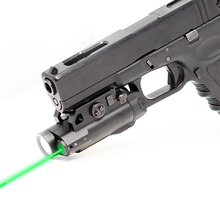 купить Tactical Laser Sight Scope Weapon Light Laser 5mw Glock 19 Laser Pointer For Guns Picatinny Aiming Laser + Tactical Light по цене 4909.45 рублей