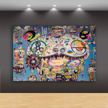 Abstraction Sunflower Demon Canvas Unframed Wall Paintings Wall Decor Bedroom Home Morden Decor Living Room M869