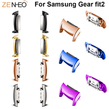 Stainless Steel Watch Adapter For Samsung Gear fit2 Replacement Smart Barcelet For Samsung Gear fit2 watchband smart accessioes samsung gear fit2 яндекс переведет текст с картинки почта россии будет доставлять уведомления по e mail