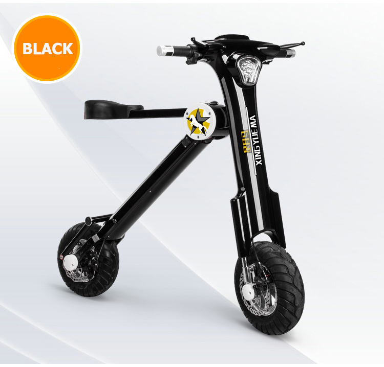 12 pouces ville mini smart pliant vélo électrique lithium électricité scooter électrique portable voiture au lieu de marcher ebike