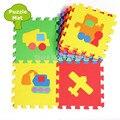 Promoção 10 pçs/lote Tráfego Carros esteira do Jogo criança dos desenhos animados tapete puzzle de espuma bebê eva tapetes de retalhos EDD005