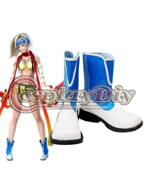 Final Fantasy Rikku Cosplay Boots Shoes Custom Made