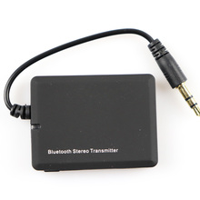 Portable Bluetooth Transmitter Mini 3.5mm Audio Transmitter Receiver A2DP Stereo Dongle Adapter for iPod TV Mp3 Mp4 PC