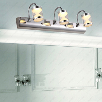 6W/9W LED Wall Sconces Acrylic Hourglass Lamp Fixture Bathroom Living Room Hotel Mirror-front Light