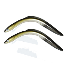 Realistic Soft Sand Eels for Predator Bottom Fishing Lure Baits 29.5cm 59g
