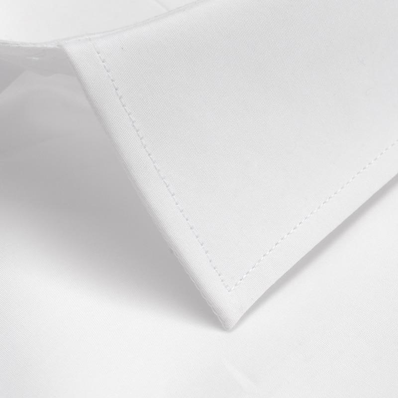 Image 3 - Mens Standard fit Wrinkle Resistant Long Sleeve Dress Shirt Button Closure Cotton Classic Formal Business Work Basic ShirtsDress Shirts   -