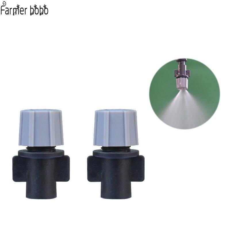 60 pcs Réglable Micro Atomisation Sprinkler Buses de Pulvérisation D'eau Tee pour Effet de Serre Jardin Pelouse Herbe Fleur Plante