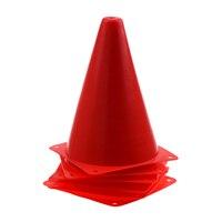 6 шт многофункциональная безопасность ловкость конус для футбольного футбола спортивное поле Практика дрель Маркировка-красный