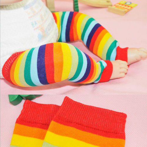 Newborn-Toddler-Kids-Boy-Girl-Winter-Leg-Warmer-Tights-Cute-Rainbow-Stripe-1