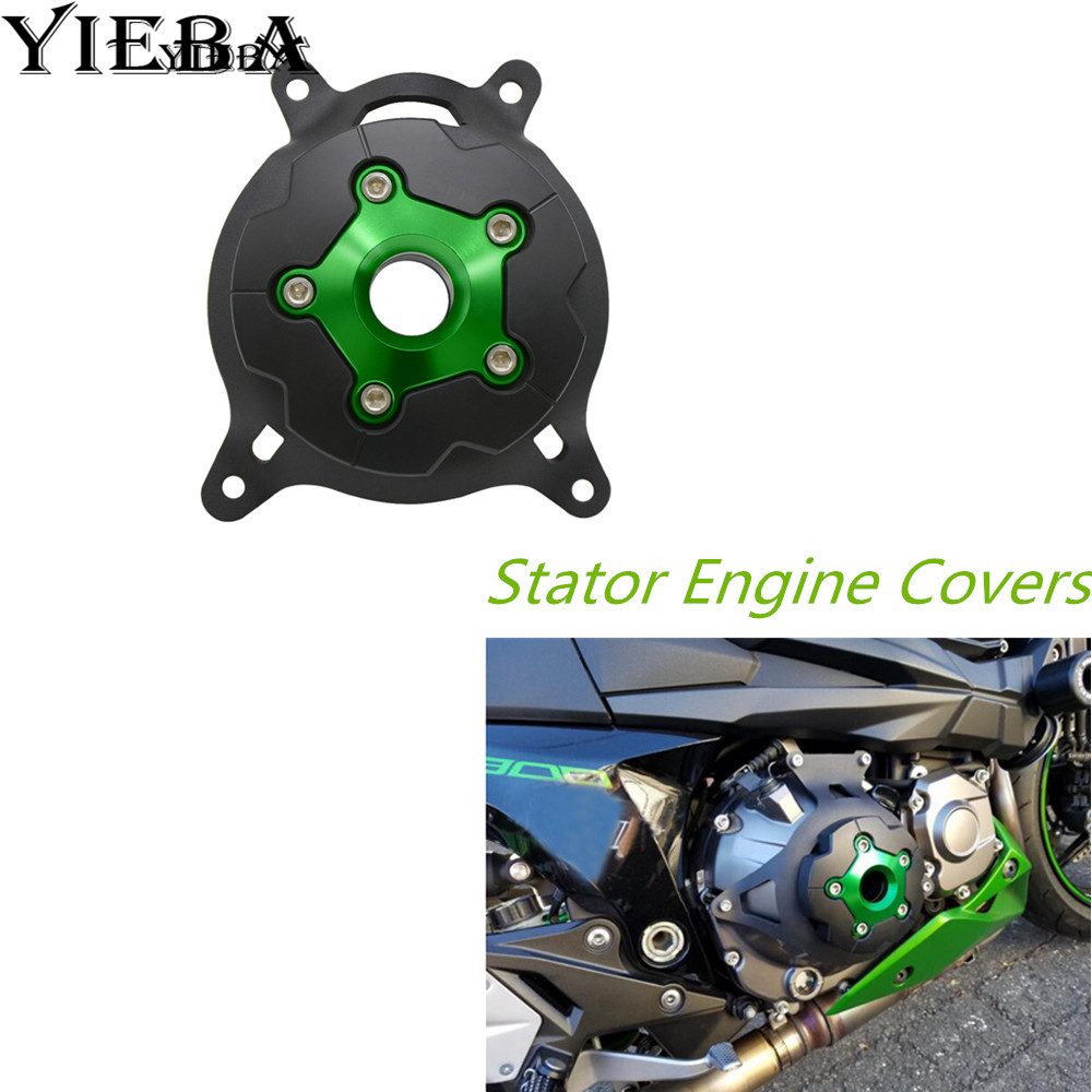 CNC Brand New Motorcycle Engine Stator Case Cover Engine Protective Cover Protector With Z750 LOGO for KAWASAKI Z750 2013-2016 cnc engine cover cross derby