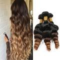 Peruvian Virgin Hair Unprocessed Soft Clean Virgin Peruvian Hair Loose Wave 3pcs Weave Beauty Curly Ms Lula Hair