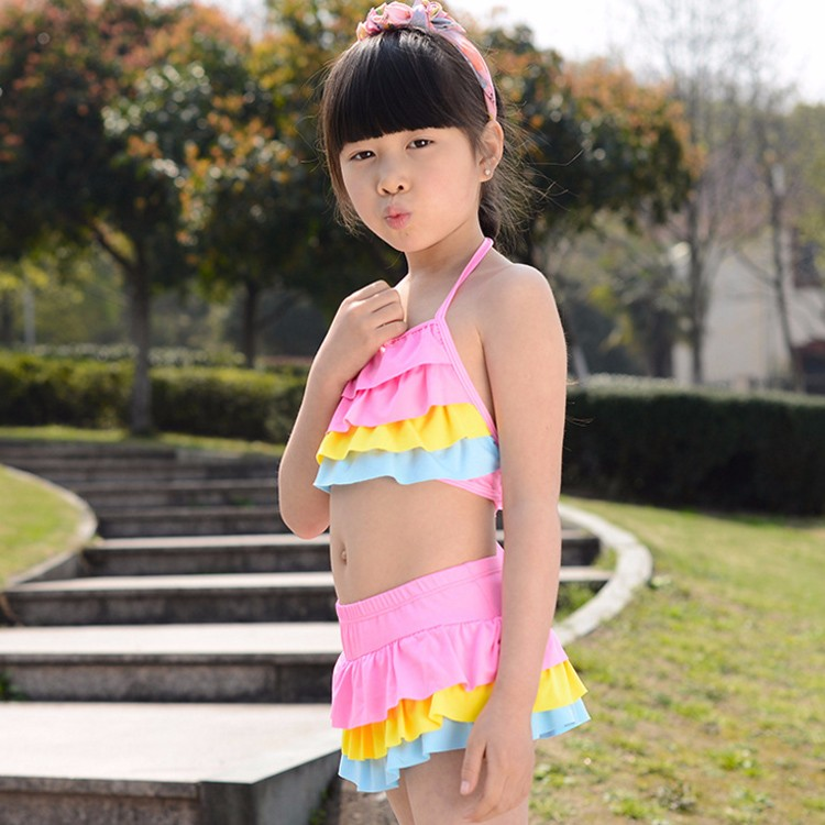 sunny eva girls swimwear floral 17 bathing suits kids girl swimwear swimsuit girls kids designer baby swimwear bathing cap 3
