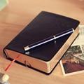 Vintage Dicken Papier Notebook Notizblock Leder Bibel Tagebuch Buch Zeitschriften Agenda Planer Schule Büro Schreibwaren Notebook