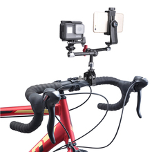 Get more info on the Adjustable Articulating Friction 3 Magic Arm Holder Camera Clamp Mount Rig for Microphone Gopro Hero 7 6 Sony SJCAM Bike Bicycle