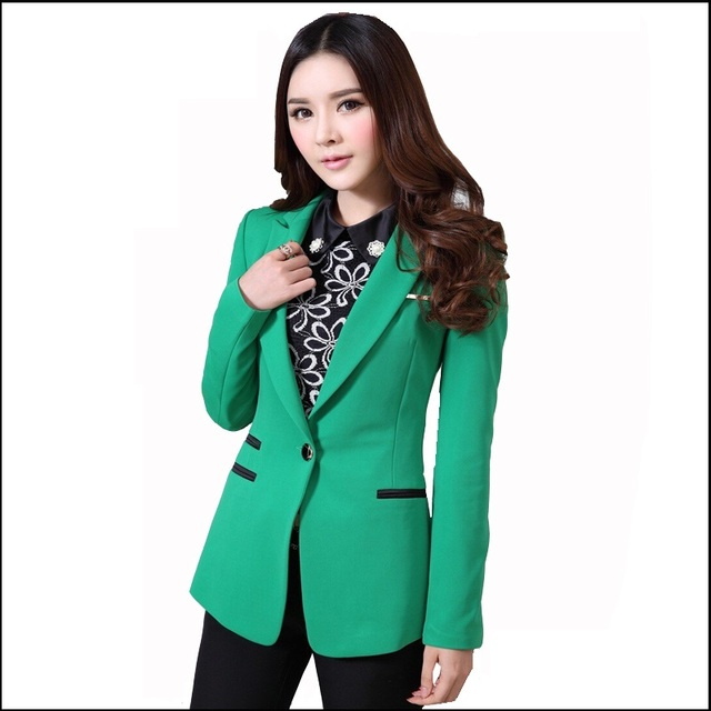 2 Piece Set Womens Suits with Blazer New 2016 Fashion Female Pants Suit with Jacket Woman Formal Business Suits