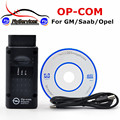 Fast Shipping OPCOM Professional Diagnostic Tool For Opel OP COM OP-COM With PIC18F458 Firmware V1.60 Auto Scanner