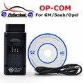 Transporte rápido Ferramenta Profissional de Diagnóstico Para Opel OP COM OP-COM OPCOM Com Firmware PIC18F458 V1.60 Auto Scanner