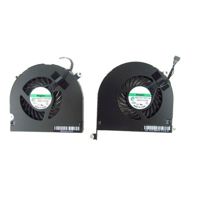 "Sol Ve Sağ CPU Soğutma Soğutucu Fan Macbook Pro 17 Için ""A1297 2009 ~ 2012"