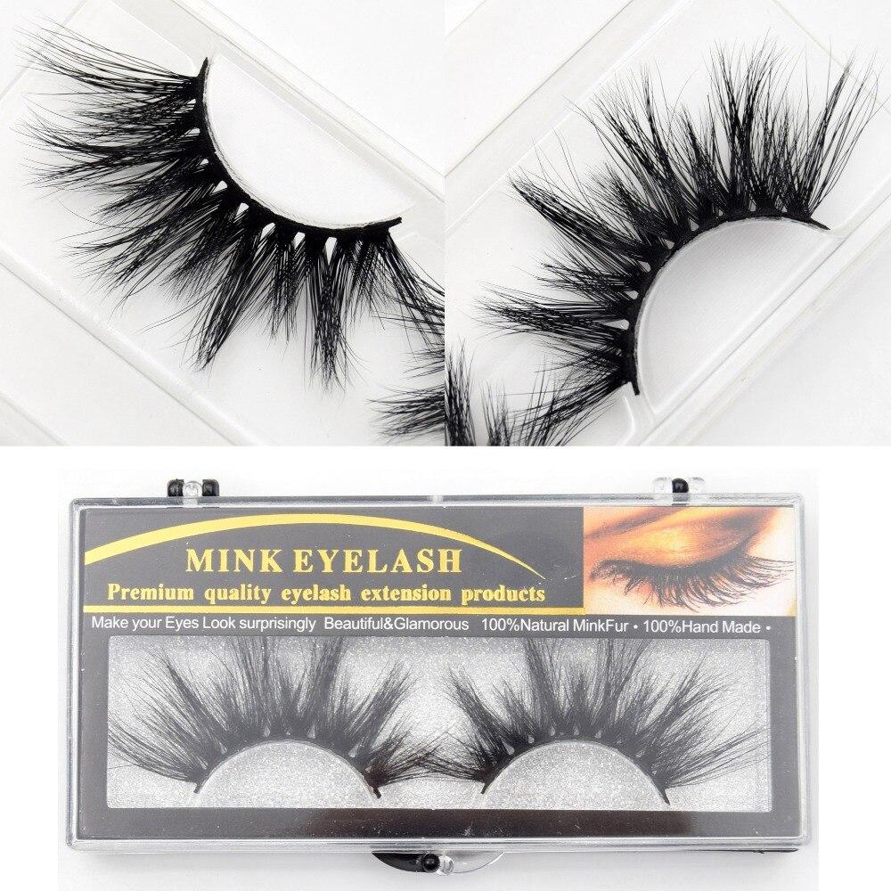 30e3556233b Visofree Makeup Eyelashes 3D Mink Lashes Fluffy Crisscross Dramatic Mink  False Eyelashes Handmade Reusable E80 Lashes maquillage