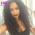 3 Bundles Malaysian Curly Hair Deep Wave 100% Unprocessed Deep Curly Virgin Hair Weaves 6A Malaysian Wet And Wavy Human Hair #1B