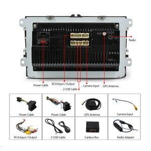 Image 5 - Panlelo 안드로이드 2Din 멀티미디어 플레이어 Autoradio 2 딘 GPS 네비게이션 블루투스 Radi 자동차 스테레오 9 인치 터치 스크린 미러 링크