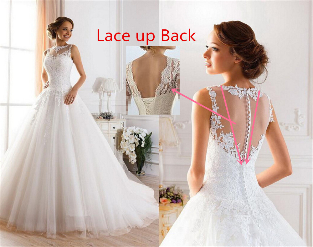 Online get cheap size 20 wedding dress aliexpress alibaba group 9036 2016 lace white ivory gown wedding dresses fo ombrellifo Choice Image