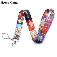 Homegaga Futurama cartoon lanyards neck straps for phones keys bead id card holders keychain webbings D1138