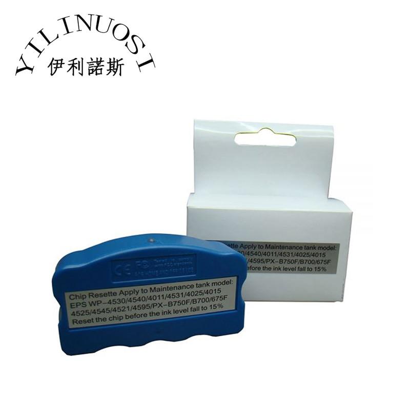 T6710 T6711 Maintenance Tank Chip Resetter for Epson WP-4010 / WP-4020 / WP-4023 / WP-4090 Printer t6761 t6761 t6764 refill ink cartridge for epson workfore wp 4010 wp 4023 wp 4090 wp 4520 wp 4533 wp 4590 wp4530 wp4540 wp 4020