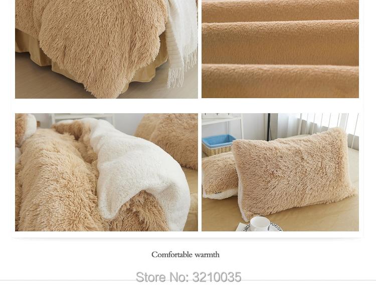 HTB1gFhieLjM8KJjSZFNq6zQjFXah - Velvet Mink or Flannel 6 Piece Bed Set, For 5 Bed Sizes, Many Colors, Quality Material