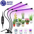 심기 램프 성장 램프 홀더 타이머 램프 27 w 식물 성장 램프 usb 플러그 led 3 머리 실내 식물 성장 조명