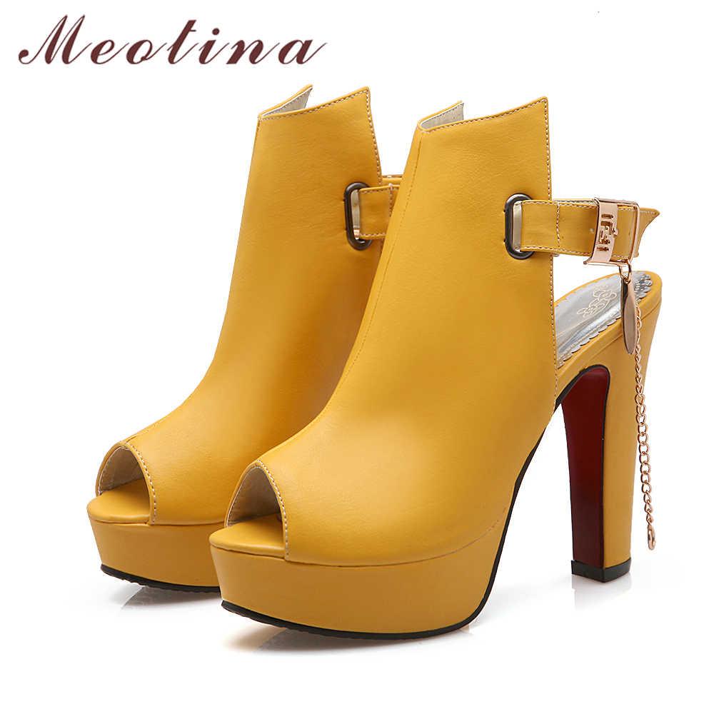 Meotina Shoes Women High Heels Pumps