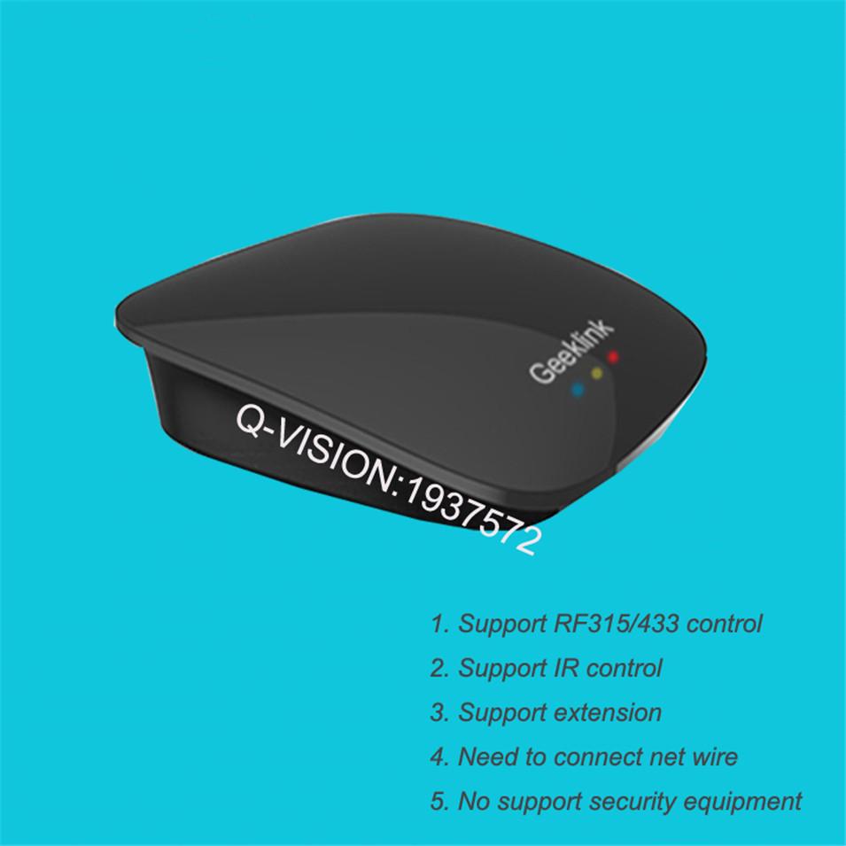 Geeklink Remotebox 3S Smart Universal Wireless Control 8-15M Realtime Feedback WIFI+IR+RF AndroidIOS Home Automation 315 433Mhz-1