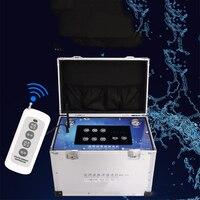 Limpiador de tuberías de pulso de alta frecuencia con pantalla táctil 2000m máquina de limpieza de tuberías de agua Q18A