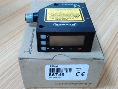 FREE SHIPPING  LE550IQ Laser displacement sensorFREE SHIPPING  LE550IQ Laser displacement sensor