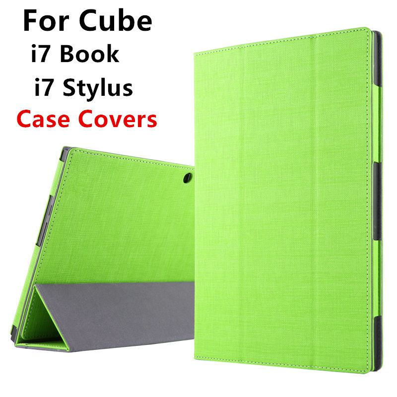 Case For Cube i7 book Protective Smart cover Leather Tablet PC For CUBE Iwork i7 stylus Protector PU Sleeve 10.6inch Cases Cover