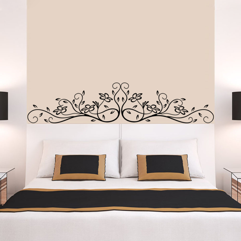 classical design tree flora plant/waterproof removable wall ... for 3d Wall Graphic Design  289ifm