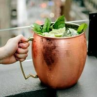 Giant 5L Hammered Moscow Mule Mug Mega Mug Moscow Mule Ice Bucket Mug