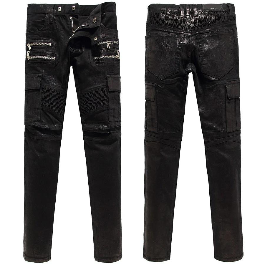 Boys Black Cargo Pants