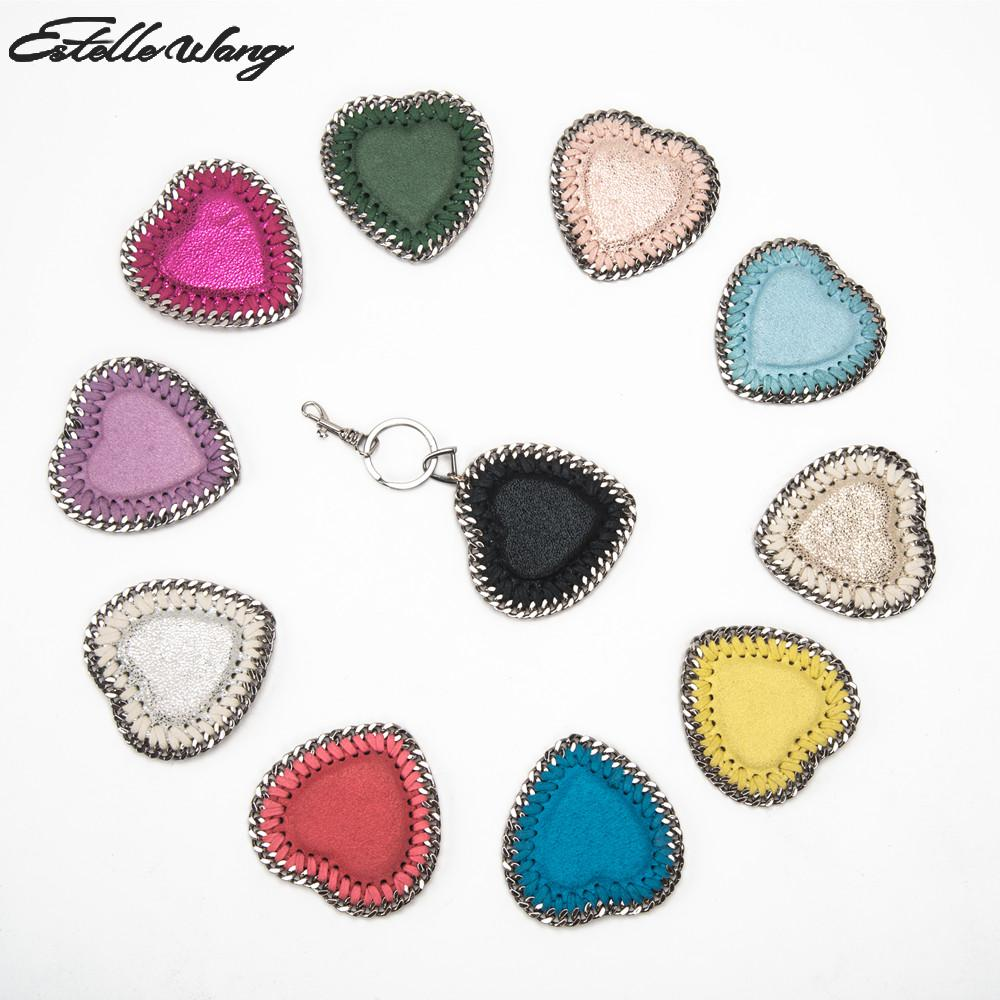2018 Estelle Wang Heart-shaped Lightweight Organizers Accessories For Handbag Bags Lovely Diy Bag Accessories