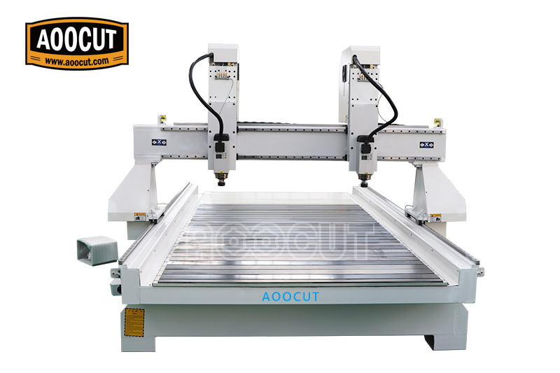 China 1530 multi heads 1325 woodworking cnc router Aoocut 1530 for furniture manufacturing 1