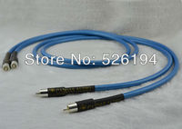 Free shipping Pair Cardas HEXLINK GOLDEN 5C RCA Interconnect cable 1.5M RCA JACK CABLE
