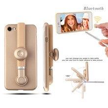 Роскошный Телефон Камеры Selfie Палка Телефон Чехол Для IPhone 7 For IPhone 7 plus Стенд Держатель Beauty Shot